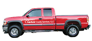 Fairfield County Services Truck